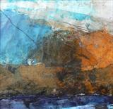Autumn, Old Man of Coniston by Joanna Brendon MA, Painting, Mixed Media on paper