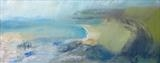 Cornish Coast No.3 by Joanna Brendon, Painting, Oil on canvas