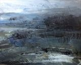 Dartmoor, Winter 1 by Joanna Brendon, Painting, Mixed Media