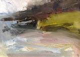 From Wonwell Beach 2 by Joanna Brendon, Painting, Oil on Paper