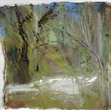 Harford Bridge 2 by Joanna Brendon, Painting, Oil on Paper