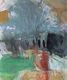 Harvestgate Farm No.2 by Joanna Brendon, Painting, Mixed Media on paper