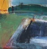 Harvestgate Farm No.3 by Joanna Brendon, Painting, Mixed Media on paper