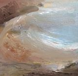 Jurassic Coast No.4 by Joanna Brendon, Painting, Oil on canvas