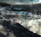 The Moors No.1 by Joanna Brendon MA, Painting, Mixed Media on paper