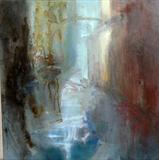 VENICE No.2 by Joanna Brendon MA, Painting, Mixed Media on Canvas
